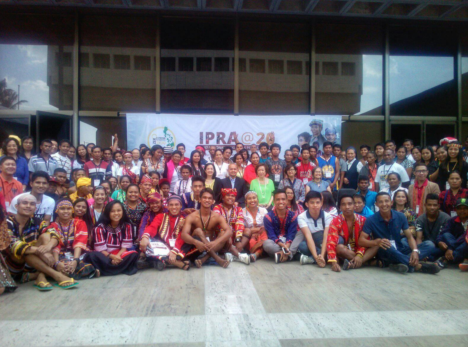 IP RIGHTS. Representatives from different tribes from all over the country gather at the Ramon Magsaysay Center for the 2017 Indigenous Peoples Summit. Photo by Bong Santisteban/Rappler