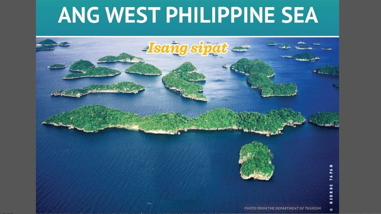 FILIPINO PRIMER. The DFA launches a digital pamphlet on the West Philippine Sea to explain the maritime dispute to ordinary Filipinos. Screenshot of West Philippine Sea: Isang Sipat