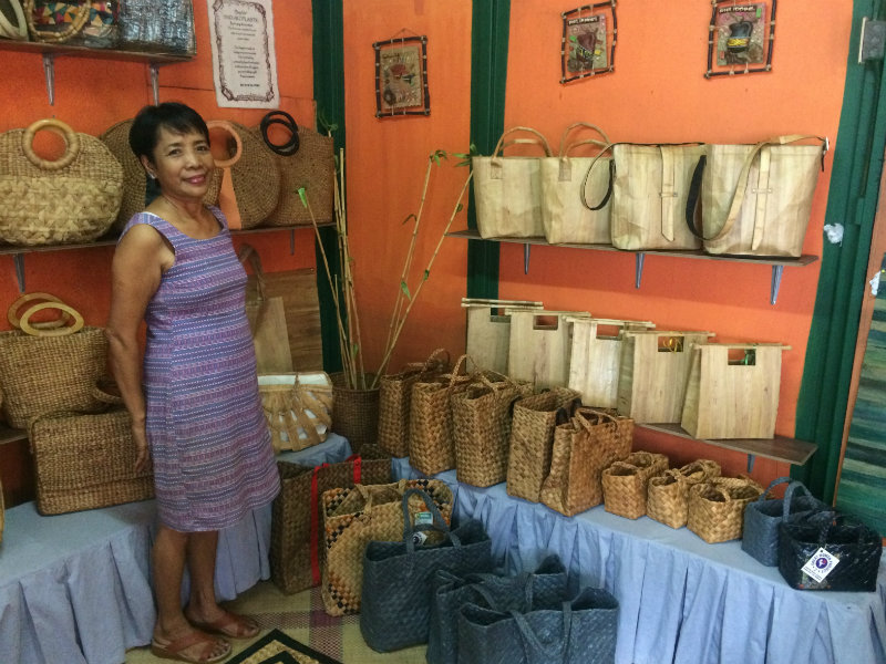 OWNER. Remia Adedoja is the proprietor of Remdavies Enterprises and the president of the Laguna Water Hyacinth Handicraft Producers Association, Inc. (LWHHPAI). Shje is populary known as Ate Remy in their community