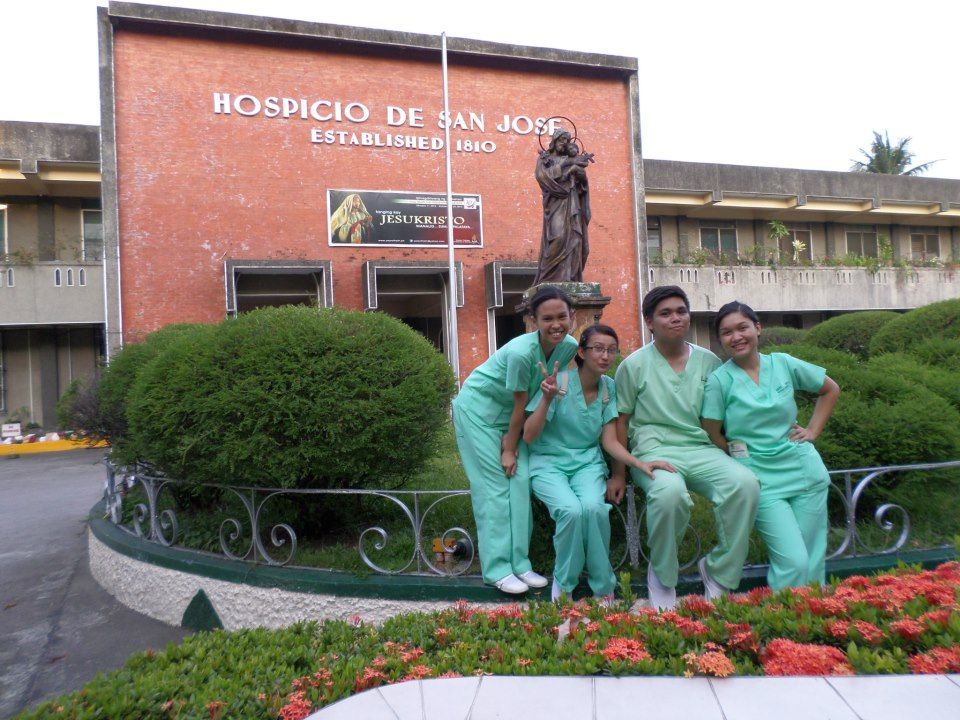 ADDITIONAL TRAINING. As nursing students, Barcelon and her classmates had to go through different affiliation programs.