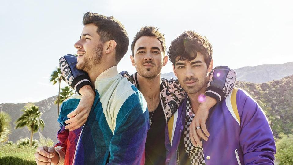 JOBROS FILM. A documentary on the newly-reunited brothers is underway. Photo from Jonas Brothers' Facebook page