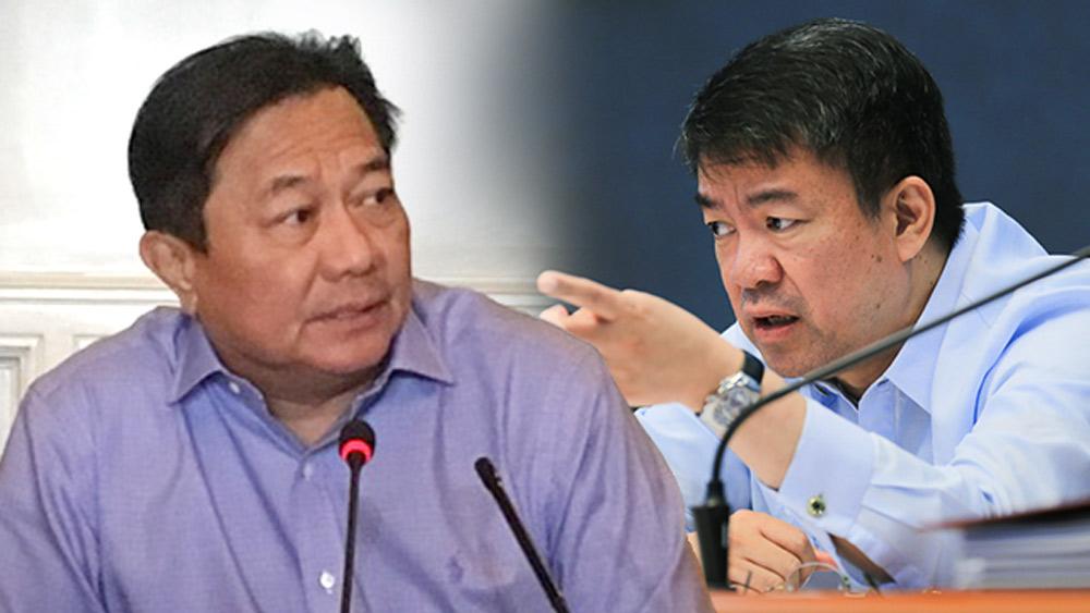CHIEF LEGISLATORS. House Speaker Pantaleon Alvarez and Senate President Aquilino 'Koko' Pimentel III