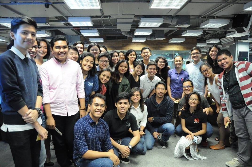 X USERS. About 200 student leaders gather at the Rappler headquarters on July 16, 2016 for the launch of the publication feature of X, Rappler's free self-publishing platform. They  represent the first 100 organizations to open their own domains on X and use the newest feature