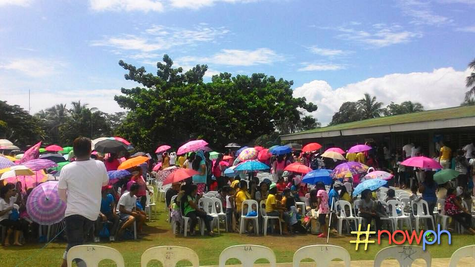 The town's youth gather to know more how they can join the fight against climate change. Photo from NowPH Facebook page.