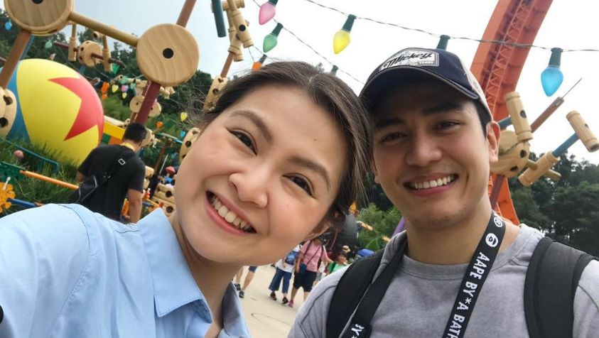 CO-STARS TURNED COUPLE. Kapuso stars Barbie Forteza and Jak Roberto are currently one of GMA's most prized love teams. Photo from Barbie Forteza's Instagram account