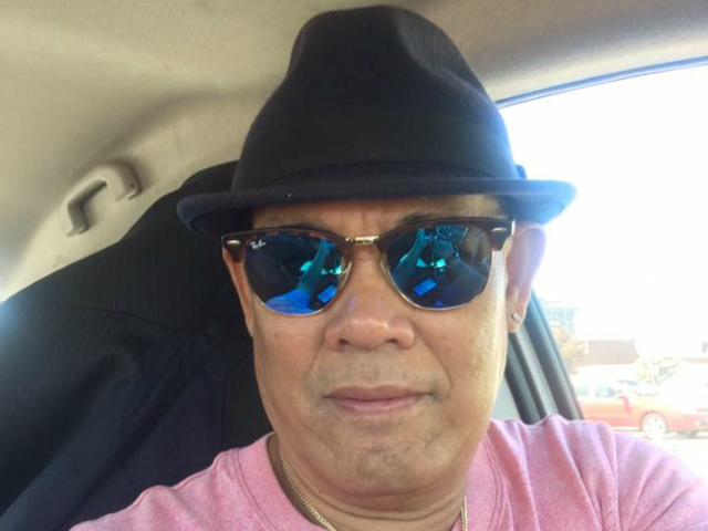 HEROIC DRIVER. Taxi driver Winifredo Maquindang is praised for helping save lives after the Las Vegas shooting incident. Photo from Maquindang's Facebook page