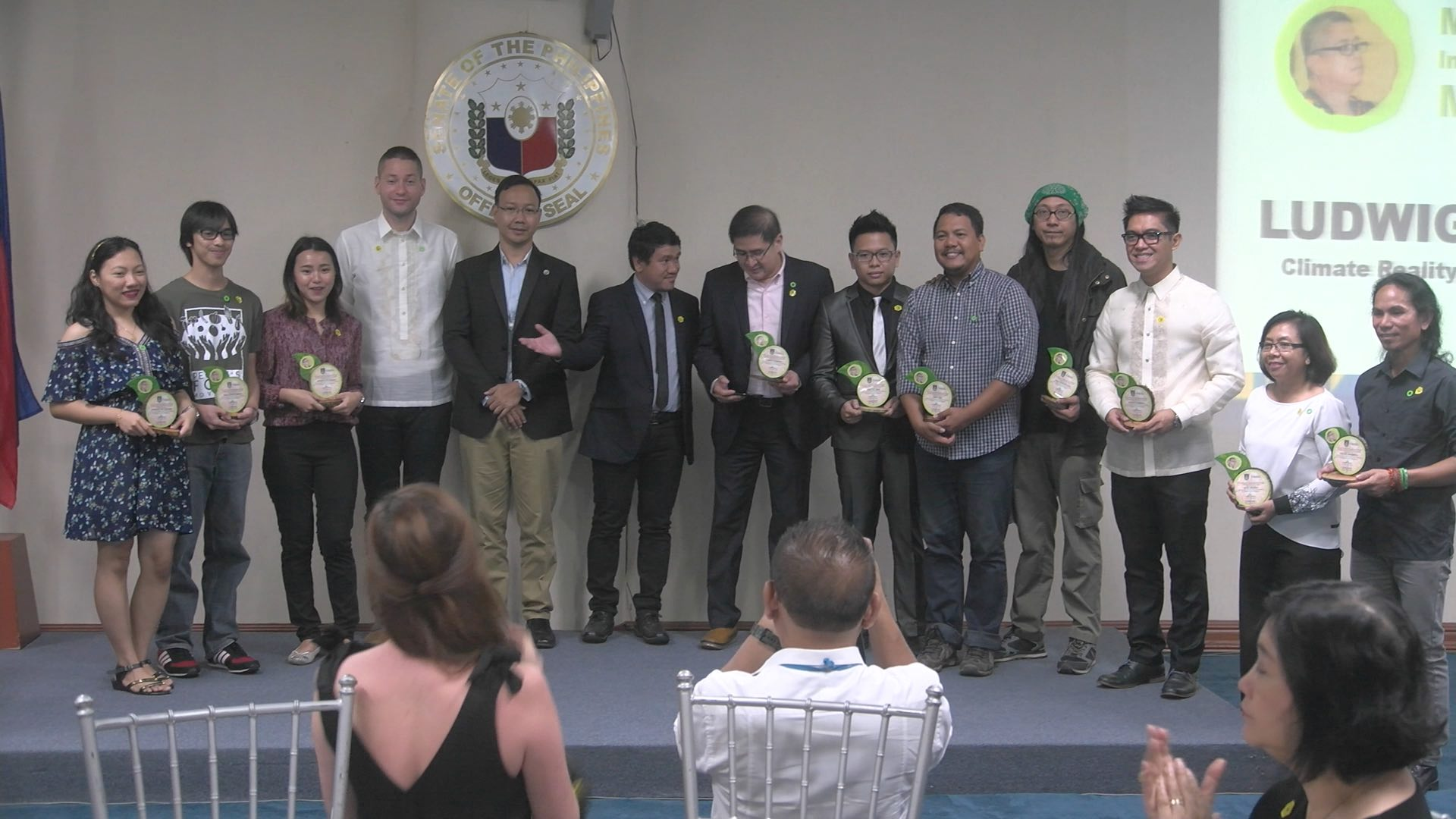 INDIVIDUAL CLIMATE LEADERS. Recipients of the Miguel R. Magalang Individual Climate Leadership Memorial Award