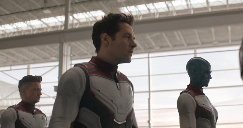 'ENDGAME.' The Avengers scramble to undo Thanos' actions in 'Infinity War.' Still courtesy of Disney