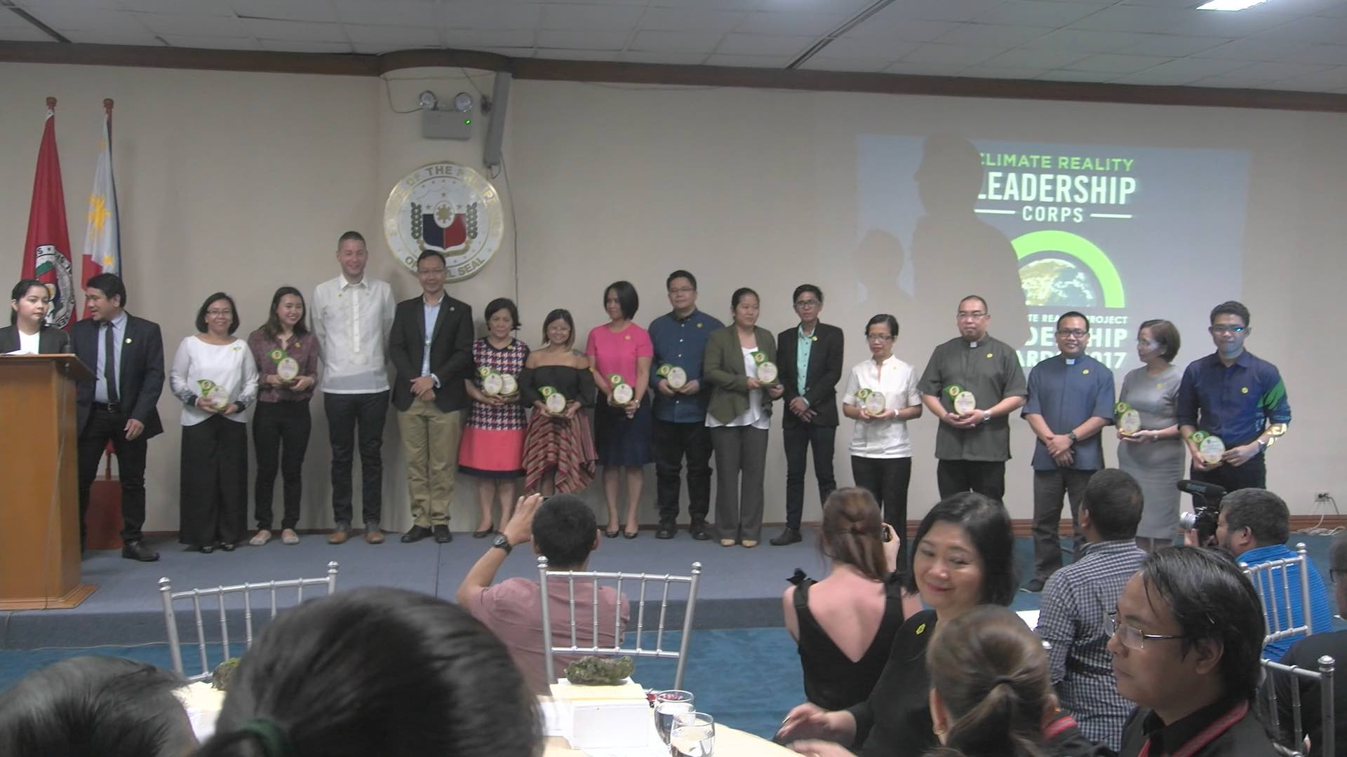 COLLECTIVE CLIMATE LEADERSHIP. Recipients of the Allen S. Quimpo Collective Climate Leadership Memorial Award