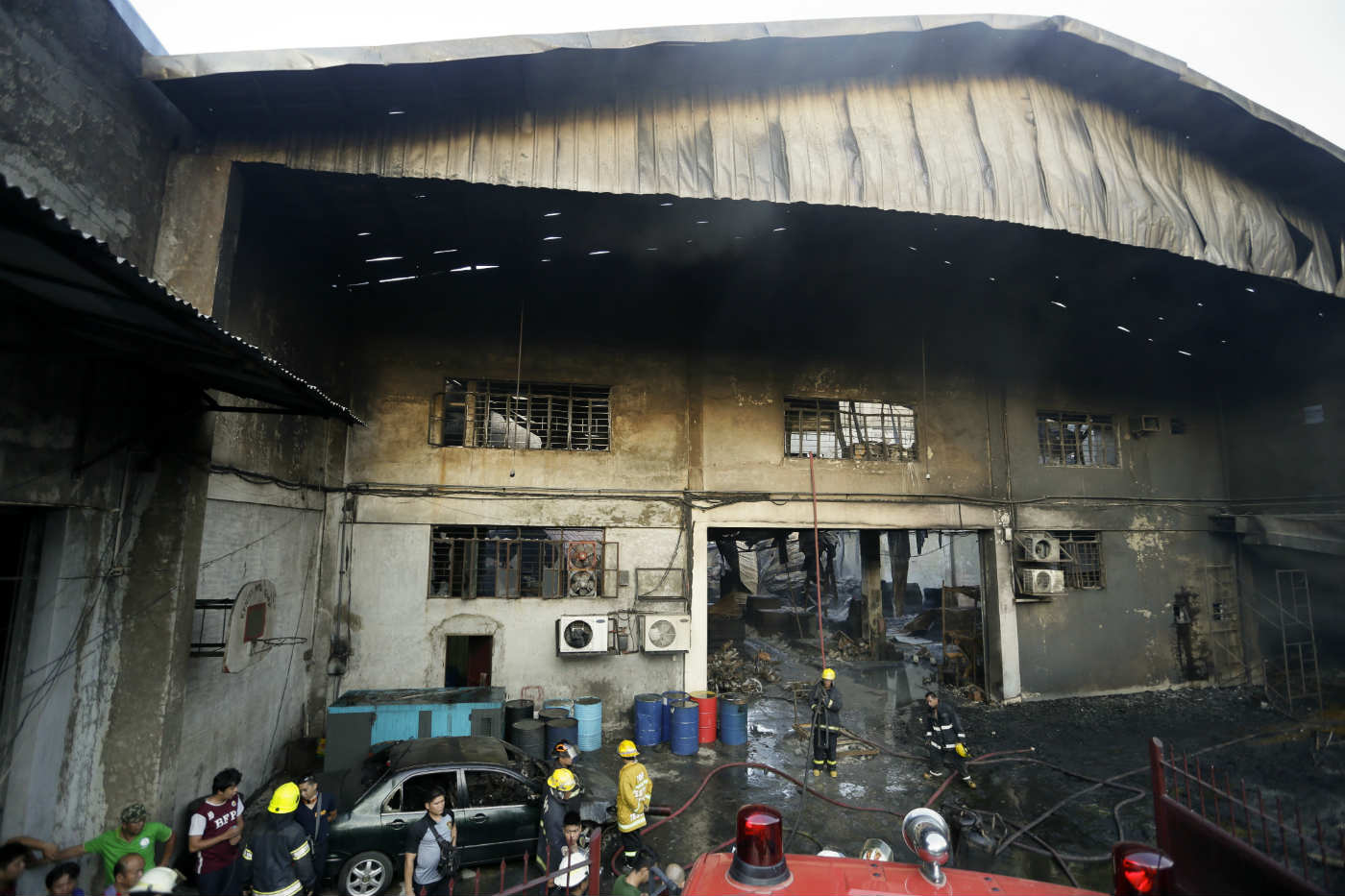 Philippines Valenzuela Fire a Fire in Valenzuela City