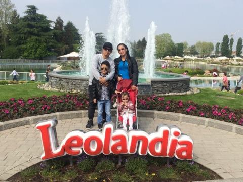 SECOND HOME. After 4 years, Junjun Paran was finally able to bring his wife and two children to Italy.