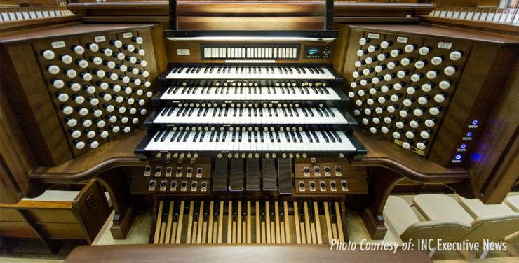 The power and majesty of the 20-ton Iglesia Ni Cristo pipe organ