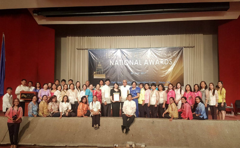 ZERO CASUALTY ADVOCATES. NDRRMC awards local government units, humanitarian groups, and individuals for their outstanding efforts on disaster management. Photo by PICC