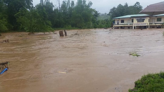 MASSIVE FLOODING. Parts of Bubong town in Lanao Del Sur are submerged in floodwaters. Photo courtesy of ARMM Assemblyman Zia Alonto Adiong
