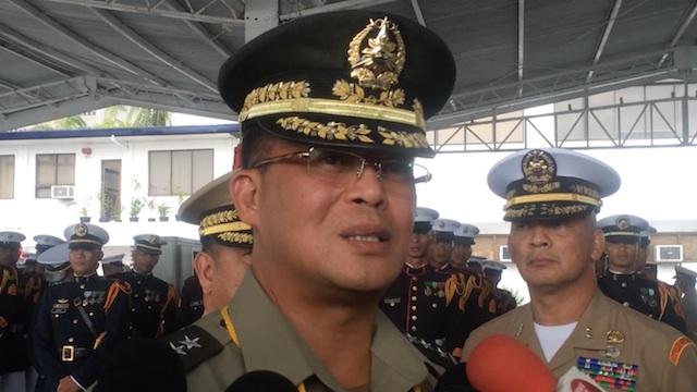 AFP Chief, Gen Gregorio Pio Catapang Jr