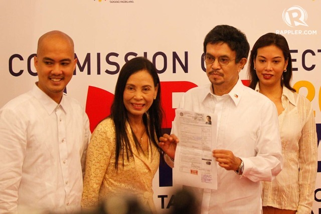 2016 ELECTIONS. This file photo shows Roy Señeres Sr after he filed his candidacy on October 2015. He died days after he withdrew his candidacy on February 2016.