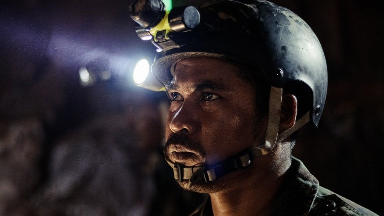 UNSUNG HEROES. The Cave, a film on the July 2018 rescue of a young football team inside a Thailand cave, will be directed by Thai-born filmmaker, Tom Waller. Photo by Fredrik DIVALL / DE WARRENNE PICTURES CO. LTD / AFP