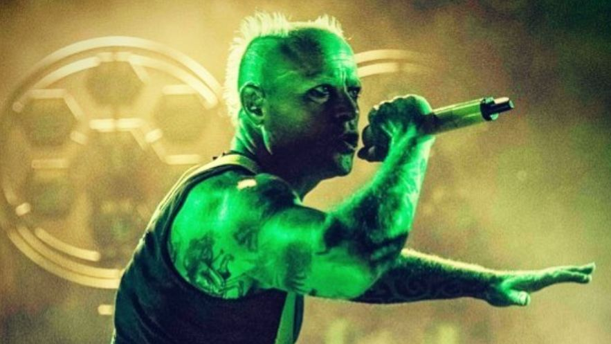 REST IN PEACE. The Prodigy lead vocalist Keith Flint died in an apparent suicide. Photo from The Prodigy's Instagram account