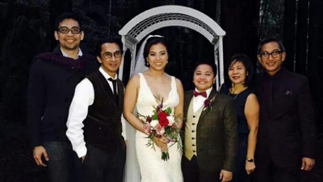 In Photos Aiza Seguerra And Liza Di 241 O S Beautiful Wedding