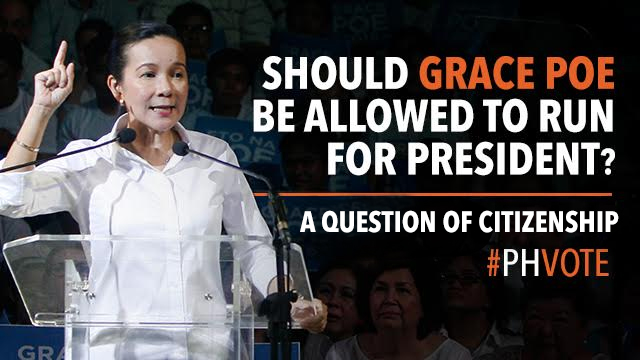 Should Grace Poe be allowed to run for president? Netizens weigh in