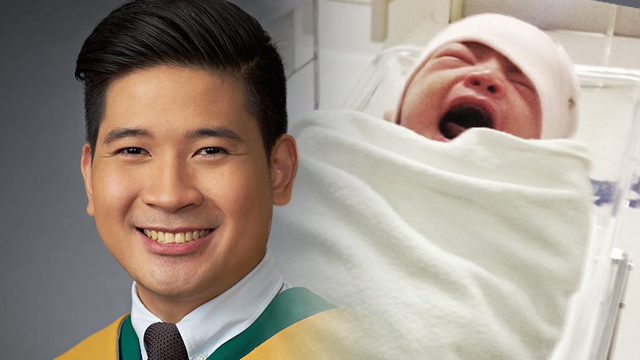 DOCTOR MACGYVER. Newly-minted doctor Mikko Manalastas' years of medical school pays off in an instant after he performs an emergency delivery. Photo credits: Mikko Manalastas