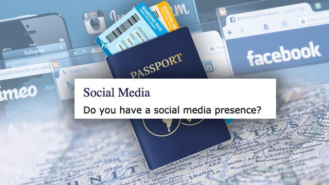 U S  starts requiring social media details for visas