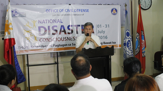 DISASTER RESPONSE. NDRRMC Executive Director Ricardo Jalad says various units are prepared to handle disasters. File photo from Office of Civil Defense