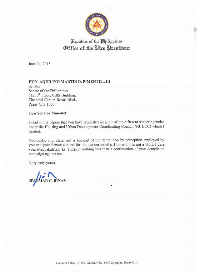 How A President Of A Company Writes A Letter