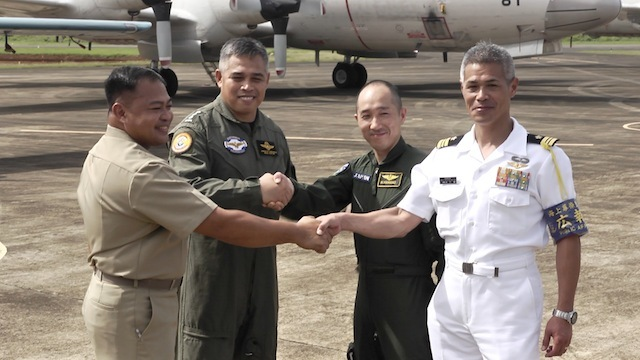 HISTORIC FLIGHT. Japan Maritime Self-Defense Force and Philippine Navy conduct first flight together over the South China Sea