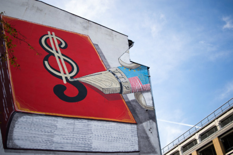 One million sign petition against huge us eu trade deal for Artist mural contract
