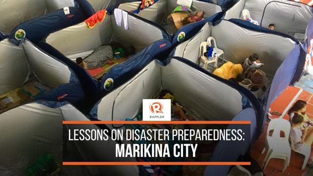 PREPARED. Marikina City shares its best practices on disaster preparedness.