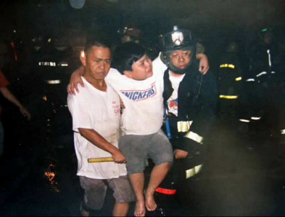 SECOND LIFE. Horacio Castillo III or Atio was rescued in a fire on December 7, 2005. Photo courtesy of Lords Hernandez