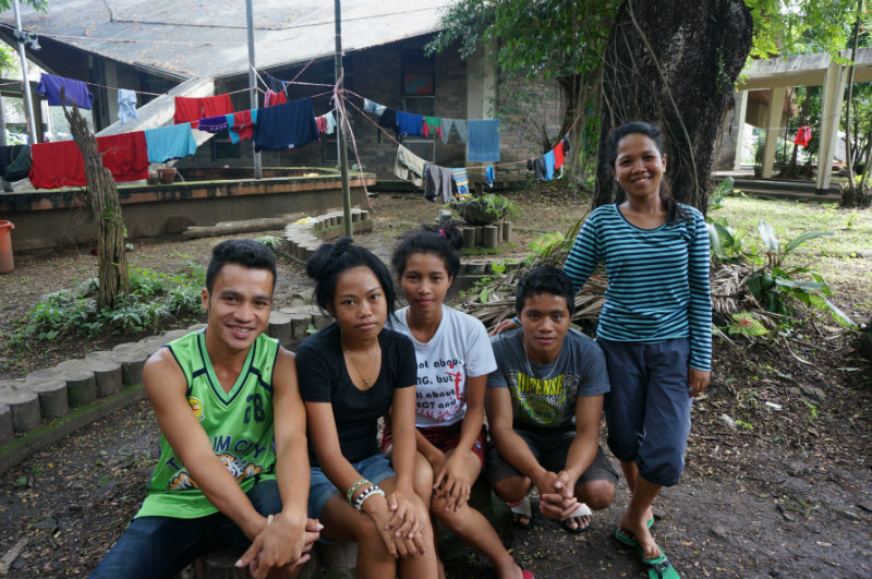 UNKNOWN FUTURE. Lakbayanis Lee, Lalay, Genevieve, Jomar, and Arjean travel to Manila from Sultan Kudarat. They dream of becoming teachers to help fellow Lumads get an education