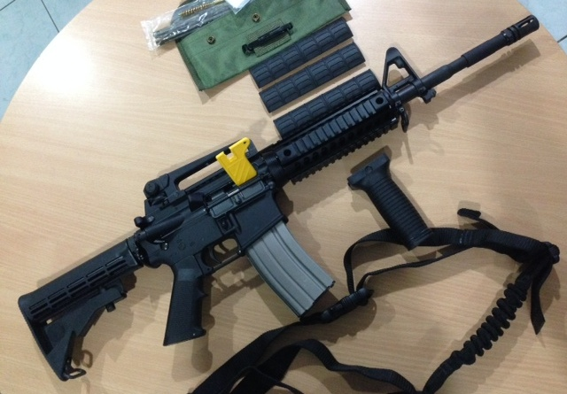 BRAND NEW: M4 rifles manufactured by US-based gun manufacturer Remington will replace the Army's M16 rifles. Photo from the Philippine Army