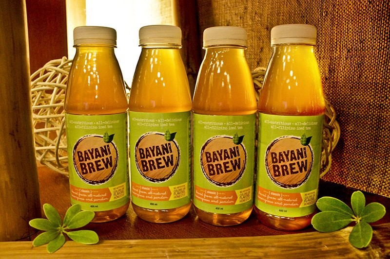 ALL-PINOY. Bayani Brew is a Filipino-made iced tea from local leaves. Photo from Human Nature website