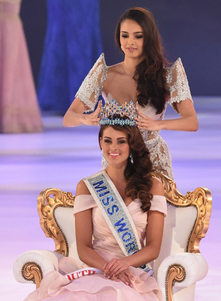 Miss World 2014 winner South Africa Rolene Strauss