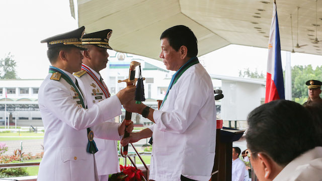 NEW AFP CHIEF. General Eduardo Año of the Philippine Military Academy (PMA) Matikas Class of 1983.