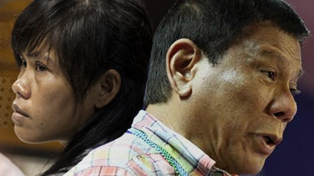 """President Duterte admitted he felt awkward about """"begging"""" Widodo to spare Veloso's life because of the his hardline stance against illegal drugs."""