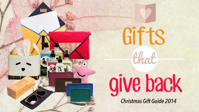 Christmas gift ideas 2014: 13 gifts that give back