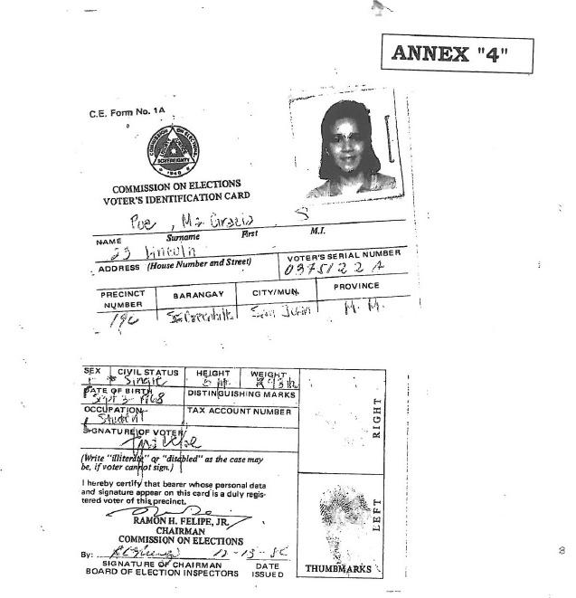 TIMELINE: Grace Poe's citizenship, residency