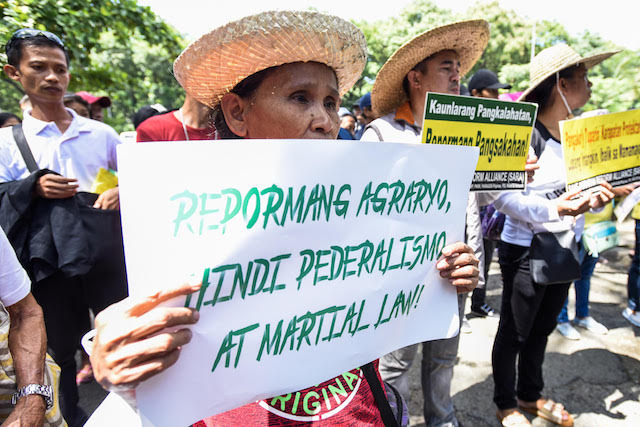 Farmers still hungry after 30 years of agrarian reform
