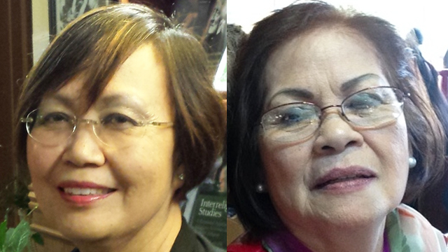 Faith dictates Rosie Paulino's (R) vote but pro-life Nellie Hizon struggles over her choice.