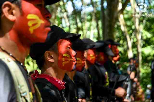 PEACE AT LAST? Philippine communist guerrillas in Mindanao. File photo by Edwin Espejo/Rappler