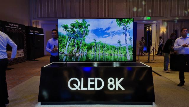 Samsung launches P5-million 8K TV