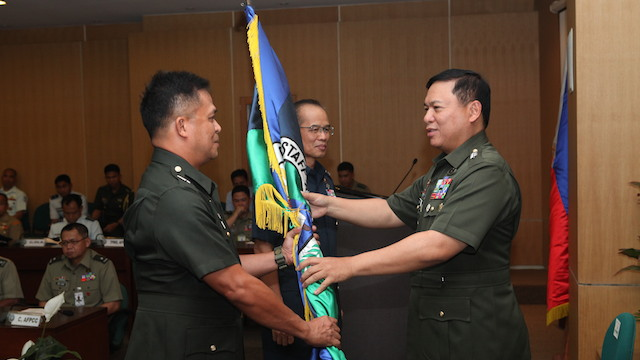 AFP'S NUMBER 2: Lieutenant General Gregorio Pio Catapang Jr. Photo courtesy of AFP-PAO