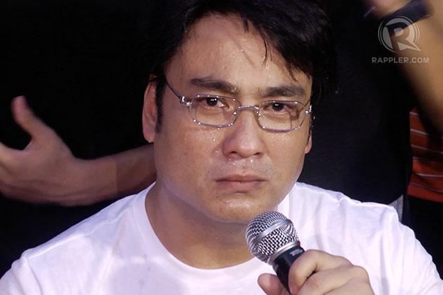 bong revilla cries political persecution