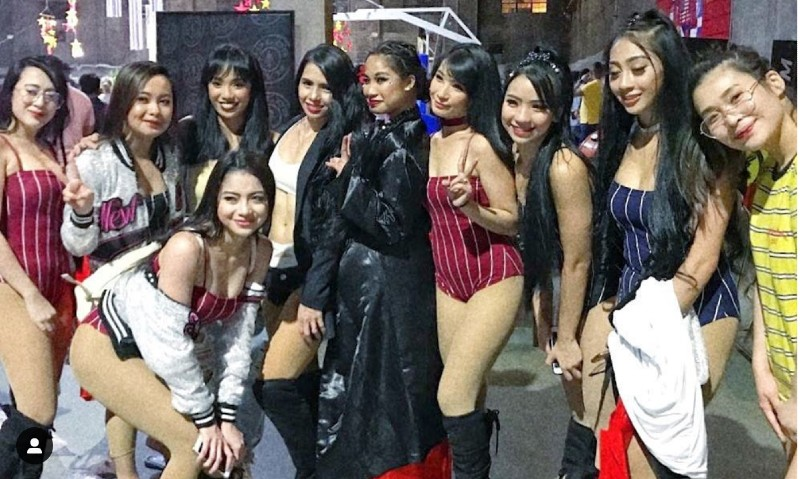 NEW GENERATION? The SexBomb Girls are looking for new members. Photo from the SexBomb Girls' Instagram page
