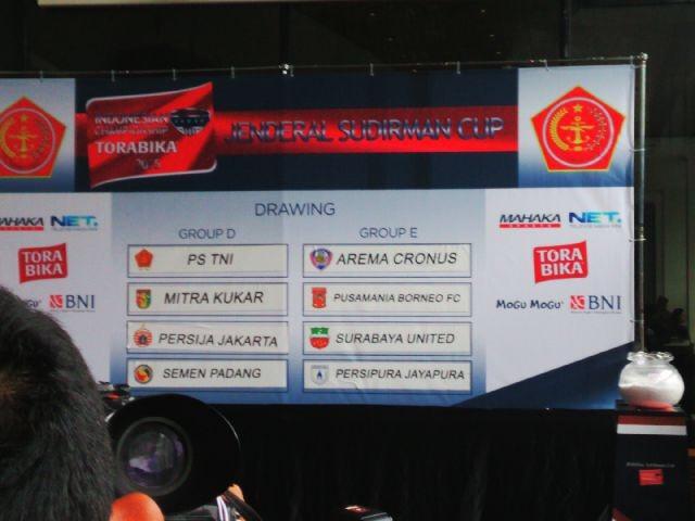 Suasana pengundian 8 besar Piala Jenderal Sudirman. Foto oleh Rappler