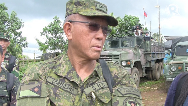 DEFENSE CHIEF. Secretary Delfin Lorenzana. Rappler file photo