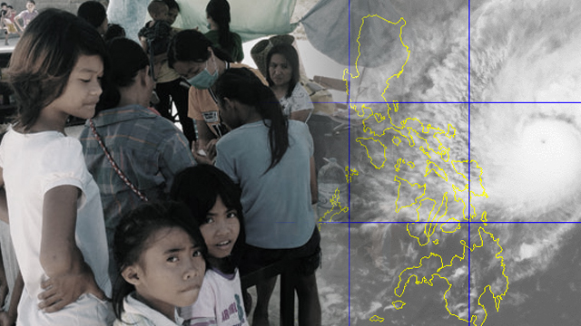 PREEMPTIVE EVACUATION. Thousands of Filipinos are urged to evacuate their homes before Christmas Day as Typhoon Nina (Nock-Ten) threatens to hit eastern part of the country